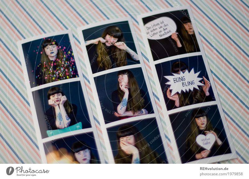 Fotos von Fotos - Carina Stil Mensch feminin Junge Frau Jugendliche Erwachsene 1 18-30 Jahre Tattoo Piercing Haare & Frisuren brünett langhaarig Pony