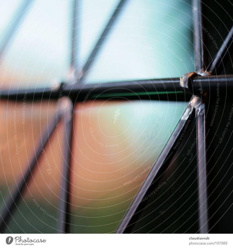Bleiglas Haus Kirche Dom Gebäude Architektur Tür Fenster Bleiglasfenster Fensterscheibe Glas Metall Sauberkeit mehrfarbig Vergangenheit Reflexion & Spiegelung