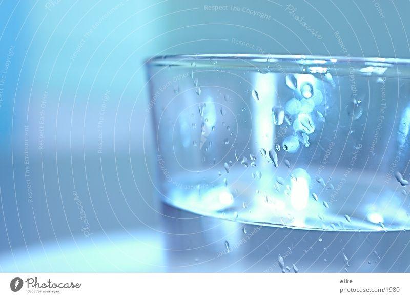 Ein Glas Wasser Getränk Flüssigkeit Alkohol Mineralwasser Trinkwasser