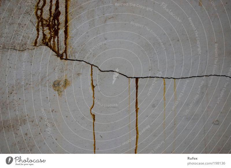 rostige Niagarafälle alt Haus Wand grau Mauer Linie braun Raum dreckig retro Küche kaputt Baustelle Häusliches Leben Innenarchitektur Tapete