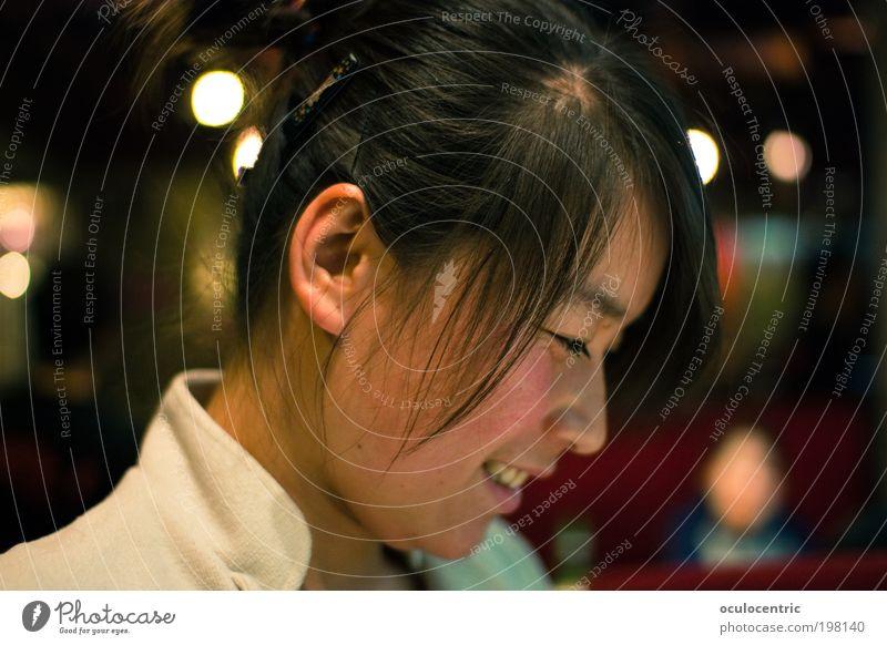 Töpfchen Kellner Restaurant Mensch feminin Junge Frau Jugendliche Kopf Gesicht 1 18-30 Jahre Erwachsene Xi'an China Asien Arbeitsbekleidung Uniform