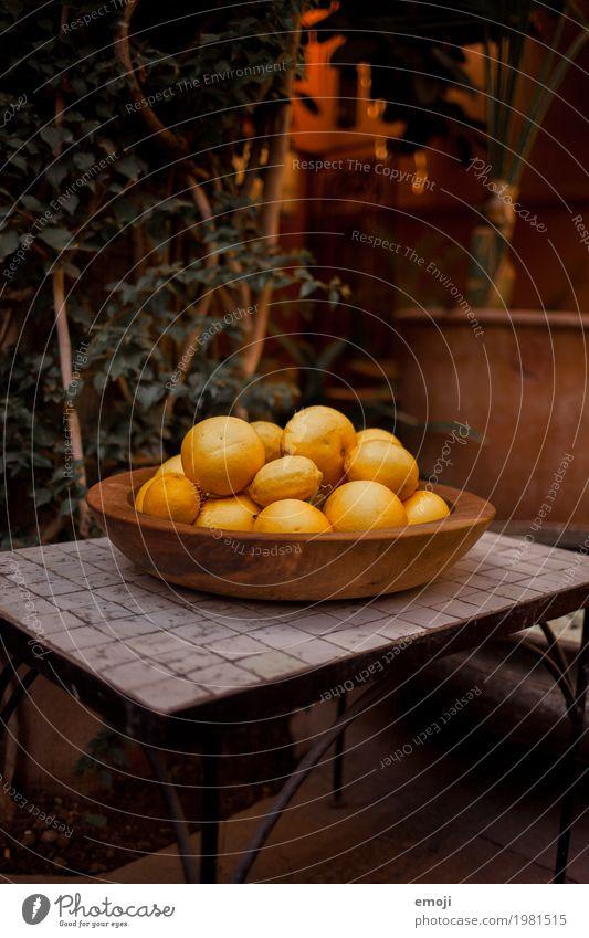 Zitronen gelb Frucht Ernährung Bioprodukte Stillleben Schalen & Schüsseln sauer