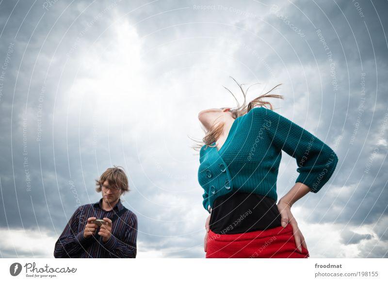 playboy Frau Mensch Mann Jugendliche schön Freude Erwachsene feminin Spielen Stil elegant maskulin wild einzigartig Konflikt & Streit Junge Frau