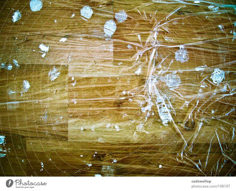 schutzfolie auf pseudonatur untergrund Natur weiß Baum Holz Farbstoff Arbeit & Erwerbstätigkeit Wohnung Häusliches Leben Bodenbelag Baustelle streichen Schutz
