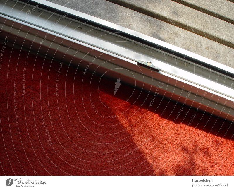 drinnen draußen rot Holz Häusliches Leben Teppich Matten Fußmatte Türschwelle