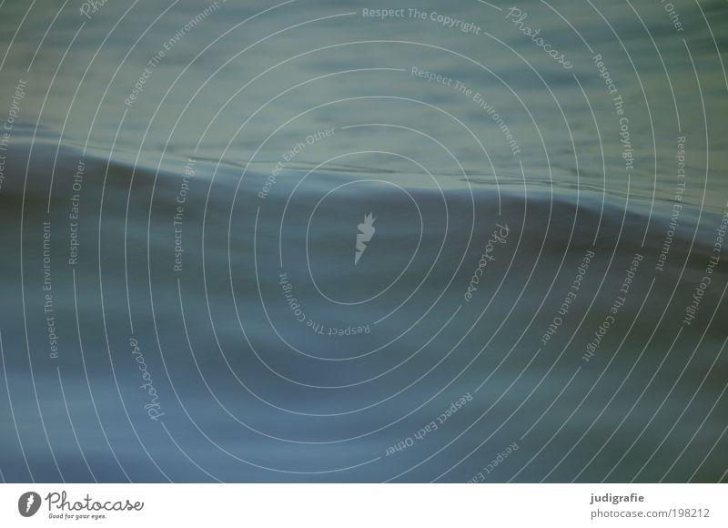 Wasser Natur Meer kalt Bewegung Wellen Umwelt nass frisch weich natürlich Urelemente Ostsee Nordsee