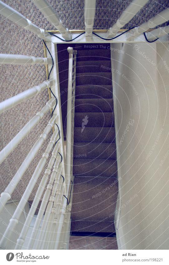 stufenschritt alt dunkel Wand Architektur Gebäude Mauer Tür laufen Treppe modern Technik & Technologie Telekommunikation fallen unten Geländer bauen
