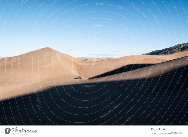 Great Sand Dunes National Park, Colorado Himmel Ferien & Urlaub & Reisen Natur Sommer Landschaft Erholung Ferne Wärme Umwelt Freiheit Ausflug wandern Wetter