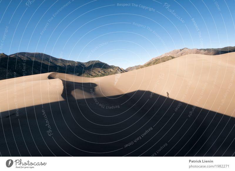 Great Sand Dunes National Park, Colorado, USA Mensch Ferien & Urlaub & Reisen Natur Sommer Landschaft Erholung ruhig Berge u. Gebirge Umwelt Zufriedenheit