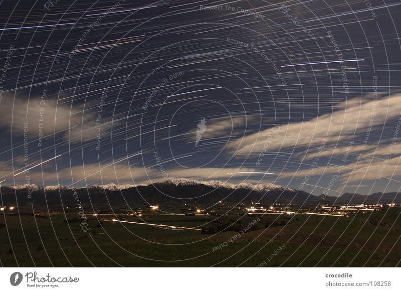New Zealand XXX Umwelt Natur Landschaft Himmel Wolken Nachthimmel Stern Winter Schönes Wetter Wind Wiese Feld Felsen Alpen Berge u. Gebirge Gipfel