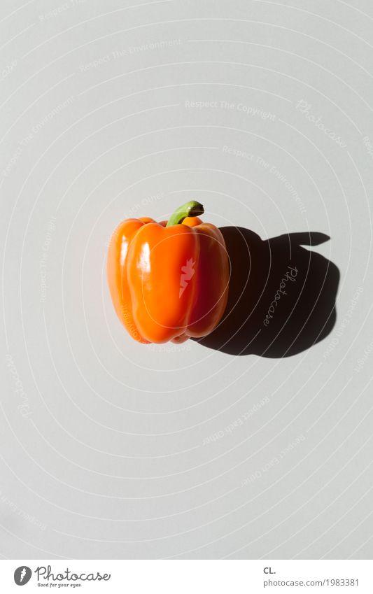 was zur verfügung stand / paprika, orange Lebensmittel Gemüse Paprika Ernährung Bioprodukte Vegetarische Ernährung Diät Fasten ästhetisch einfach Gesundheit