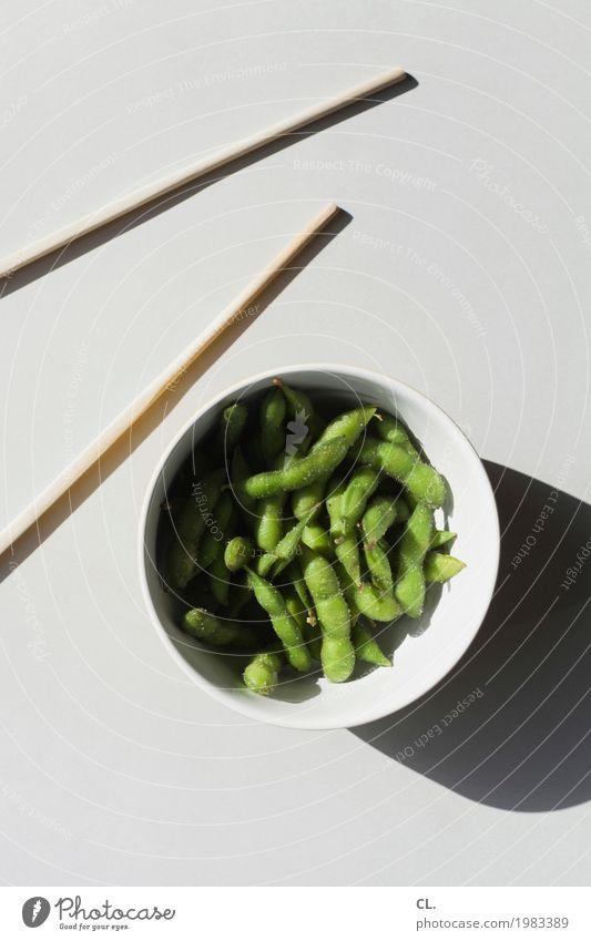 was zur verfügung stand / edamame Lebensmittel Gemüse Bohnen Sojabohne Ernährung Essen Mittagessen Bioprodukte Vegetarische Ernährung Diät Fasten Slowfood Sushi