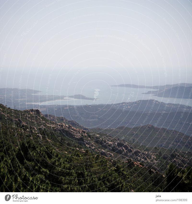 Corse Natur Himmel Baum Meer Pflanze Ferien & Urlaub & Reisen Wald Berge u. Gebirge Landschaft Küste Umwelt Horizont Felsen Insel Aussicht Unendlichkeit