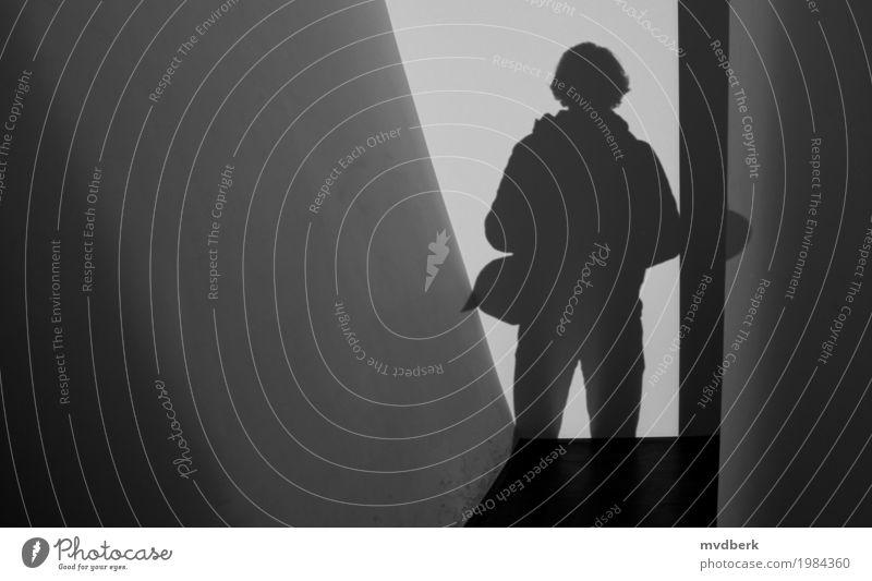 Silhouette von mir Mensch Himmel Mann Stadt schwarz Erwachsene Architektur Lifestyle Gebäude Glück Kunst Business Mode Körper Fröhlichkeit Perspektive