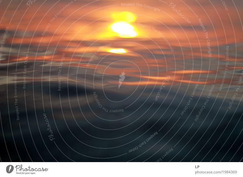verträumte Sonne auf Wasseroberfläche Lifestyle Wellness Leben harmonisch Wohlgefühl Zufriedenheit Sinnesorgane Erholung ruhig Meditation