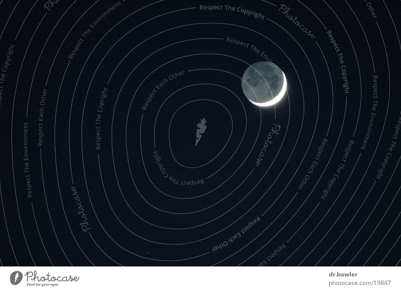 Mondsichel Sichelmond Nacht
