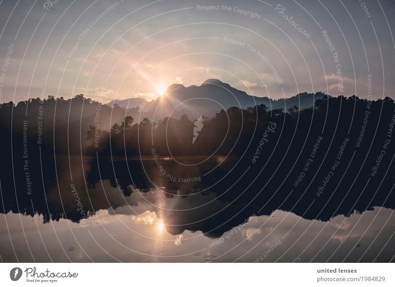 FF# Morning Natur Ferien & Urlaub & Reisen Sommer Wasser Sonne Landschaft Berge u. Gebirge Reisefotografie Umwelt Kunst See Wetter Luft ästhetisch Idylle