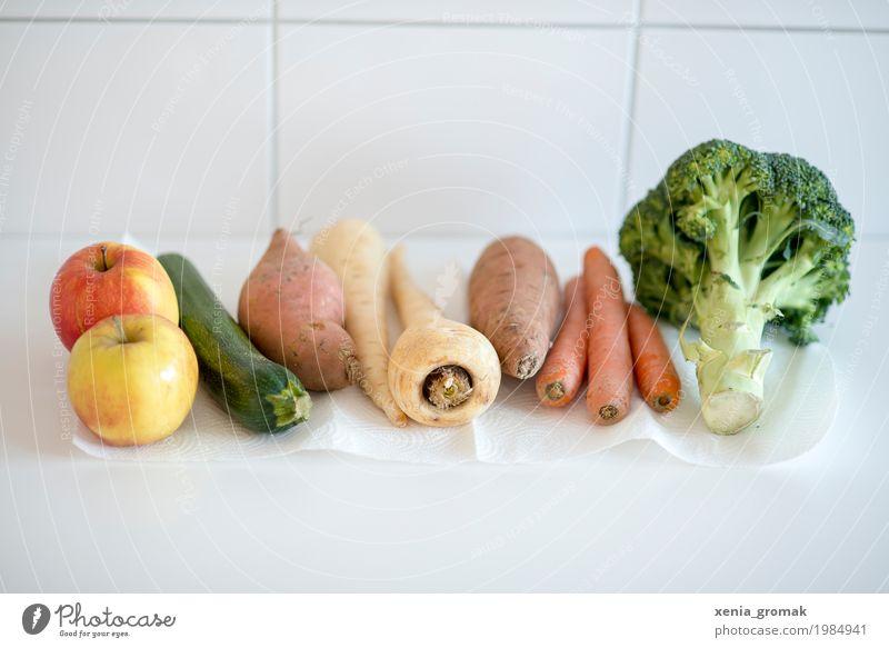 Gemüse Lebensmittel Frucht Ernährung Mittagessen Picknick Bioprodukte Vegetarische Ernährung Diät Fasten Lifestyle Gesundheit Gesunde Ernährung kaufen Essen