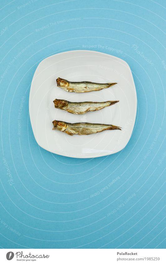 #A# Dreier Kunst Kunstwerk Design genießen Inspiration Ordnung Werbung 3 Fisch Fischereiwirtschaft Fischerboot Fischauge Fischmarkt Teller lecker