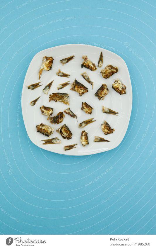 #A# Resterfischen Essen Kunst Lebensmittel Ernährung ästhetisch Fisch Bioprodukte Müll Abendessen Diät Picknick Mittagessen Fischereiwirtschaft Fasten