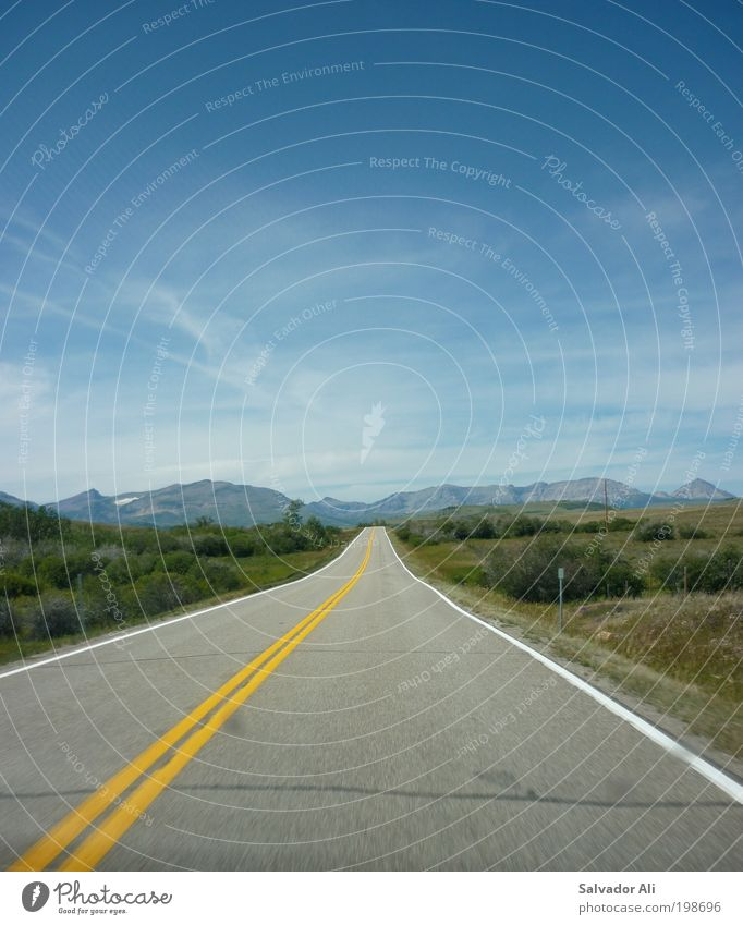 Mendocino Ferien & Urlaub & Reisen Tourismus Ferne Freiheit Sommerurlaub Berge u. Gebirge Natur Landschaft Himmel Schönes Wetter Wildpflanze Hügel Montana USA