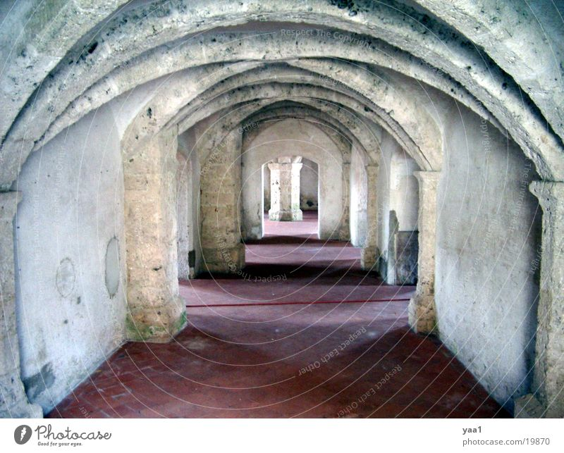 Gewölbe schön Architektur Bayern Burghausen
