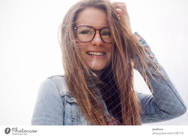 i wish time stood still... Frau Mensch schön Freude Gesicht Leben Freiheit Porträt Glück lachen Haare & Frisuren Mund Zufriedenheit Mode Erwachsene