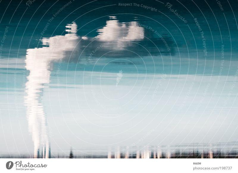 Wasserkocher Wasser Himmel Arbeit & Erwerbstätigkeit grau See Luft dreckig Umwelt Industrie gefährlich Industriefotografie Emission Abgas Erdöl Schornstein