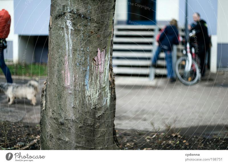 [HAL] Stadtbild Mensch Baum Leben Spielen Umwelt Hund Stil Wege & Pfade träumen Kunst Freizeit & Hobby Treppe Design Lifestyle Häusliches Leben Bildung