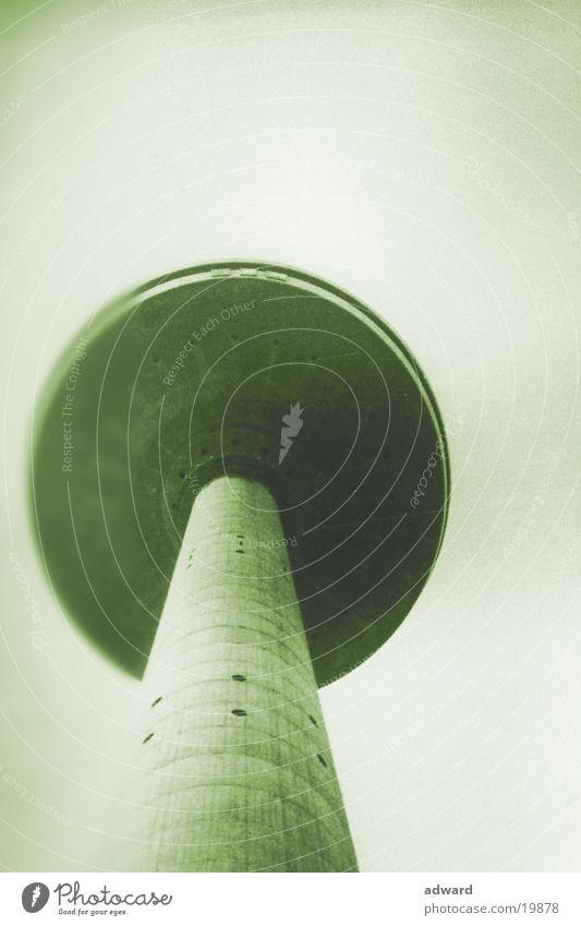 Fernsehturm Winter Dinge einzeln UFO Verzerrung