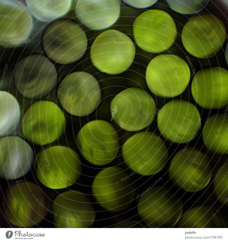 völlig losgelöst... grün dunkel Bewegung Zufriedenheit Design abstrakt retro rund Makroaufnahme Nest Kunststoff Rausch Silhouette Dekoration & Verzierung