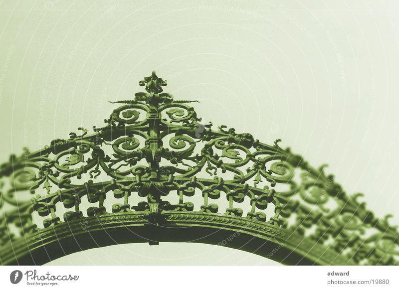 Torbogen Winter Metall Dekoration & Verzierung Dinge einzeln Bogen