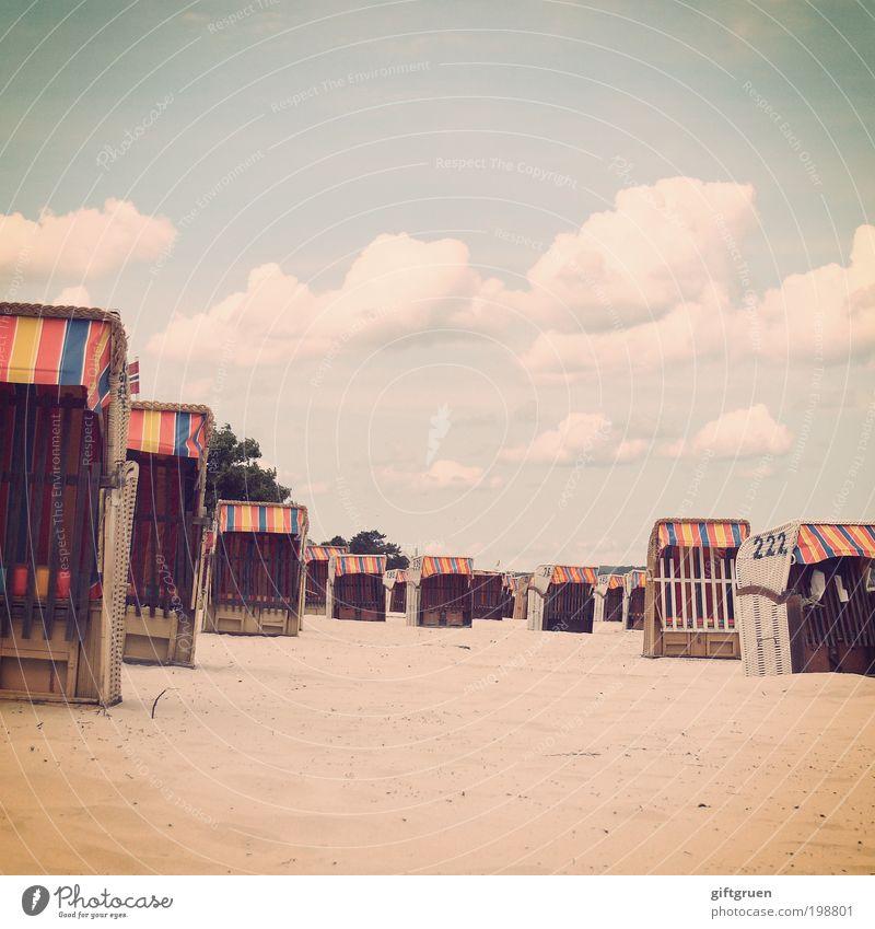 on an almost too perfect day Freizeit & Hobby Ferien & Urlaub & Reisen Tourismus Ausflug Sommer Sommerurlaub Sonne Sonnenbad Strand Meer Sand Himmel Wolken