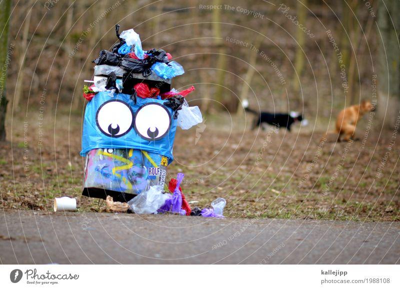 shit Lifestyle Auge Umwelt Natur Landschaft Park Wiese Stadt Tier Haustier Hund 2 lustig Müll Müllbehälter Kot hundekot müllproblem Problematik Statue