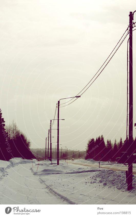 luosto XVIII Ferien & Urlaub & Reisen Ausflug Ferne Freiheit Winter Schnee Winterurlaub Natur Himmel Wolken Eis Frost Pflanze Baum Verkehr Autofahren Straße