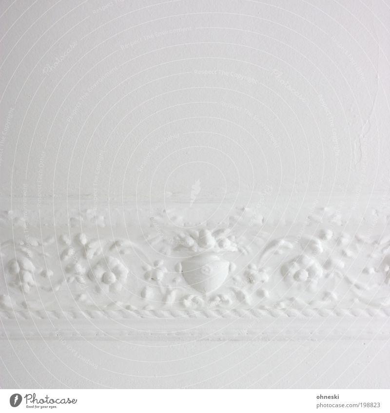 Ornament (400) alt weiß hell Raum Wohnung ästhetisch retro Dekoration & Verzierung Häusliches Leben Innenarchitektur Anstreicher Handwerker Maler Mensch