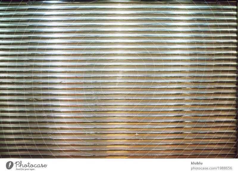 Metallwand Textur Stahl Linie grau Wand Konsistenz glänzend Glitter bügeln Hintergrund Material industriell Linien gestreift Oberfläche Leichtmetall Silber