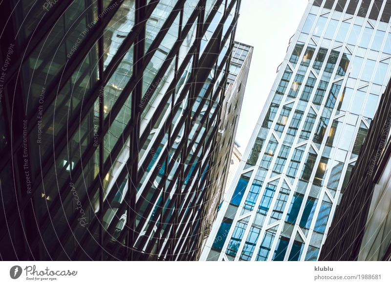 Hongkong ist eine internationale Metropole Ferien & Urlaub & Reisen Landschaft Haus Architektur Straße Leben Gebäude Tourismus Fassade Ausflug Büro modern