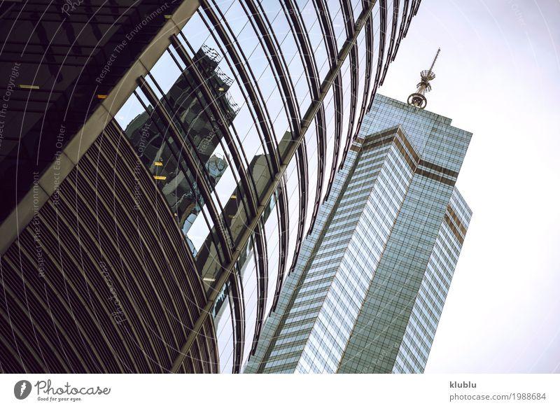Hongkong ist eine internationale Metropole Leben Ferien & Urlaub & Reisen Tourismus Ausflug Haus Spiegel Büro Landschaft Gebäude Architektur Fassade Straße