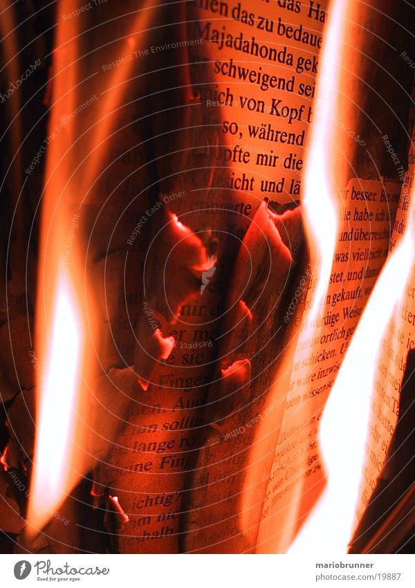 burning_book Wärme Buch Brand lesen Physik heiß Dinge brennen Literatur