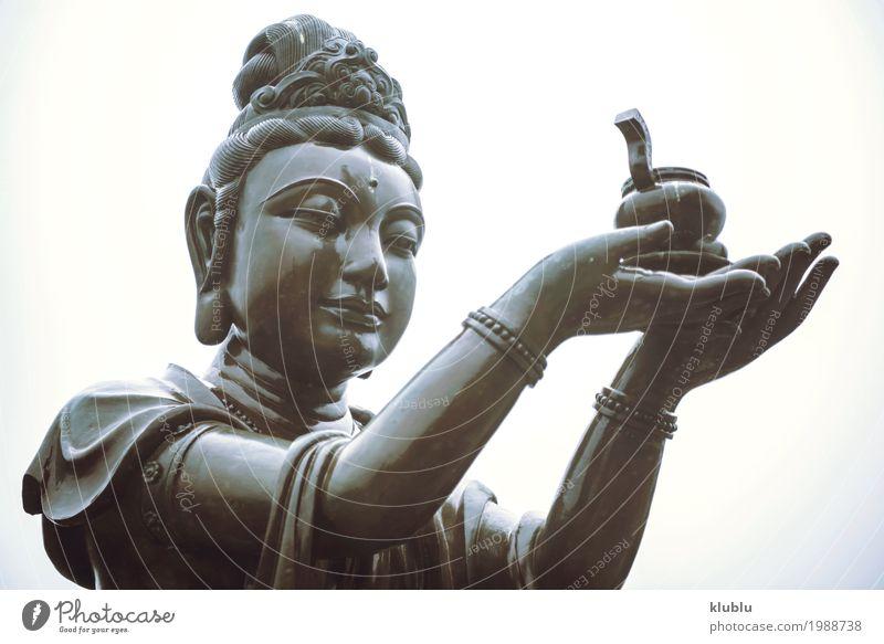 Tian Tan Buddha Tempel, Hong Kong Meditation Kunst Kultur Architektur alt groß Religion & Glaube beten Statue Figur Himmelstempel Buddhismus Asien antik