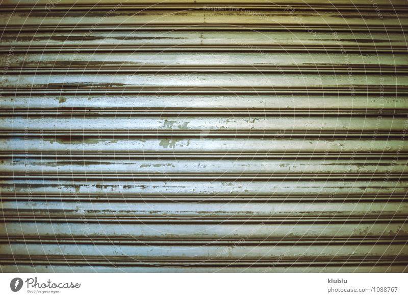 Rostige Metallwand Teller Stahl alt dreckig grau Wand gestreift Hintergrund Konsistenz bügeln Grunge Rust Oberfläche ornamental industriell Schot Material Fleck