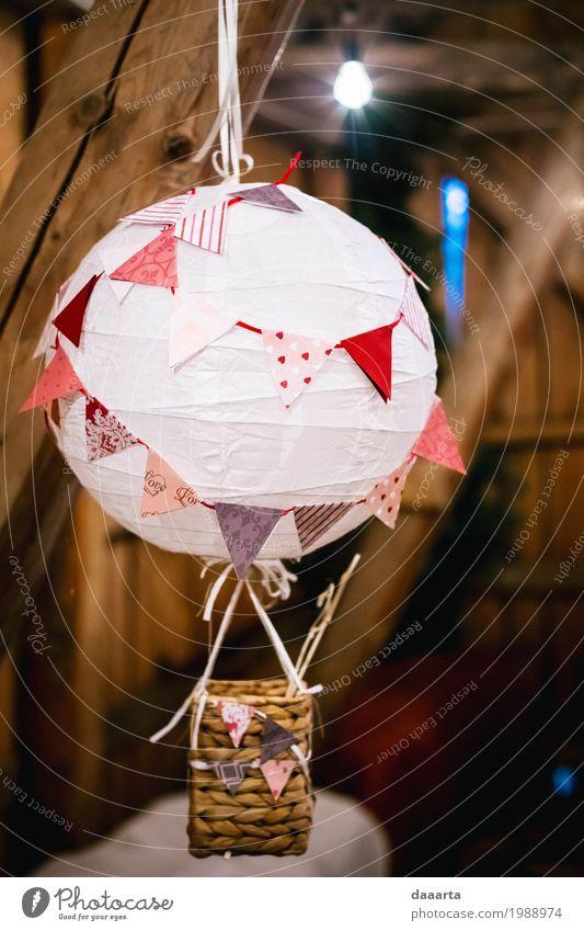Deko Ballon Lifestyle Stil Freude Freizeit & Hobby Spielen Ferien & Urlaub & Reisen Ausflug Abenteuer Freiheit Sommer Traumhaus Innenarchitektur