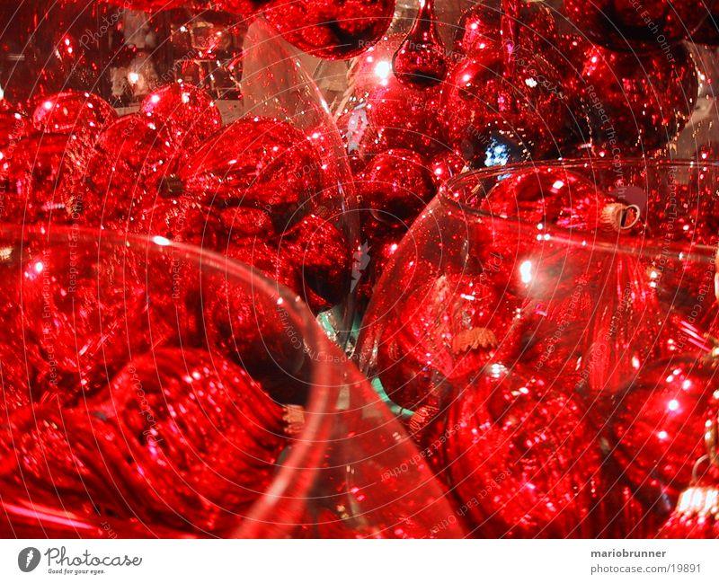 kugeln Weihnachten & Advent rot Dinge Kugel Christbaumkugel Baumschmuck