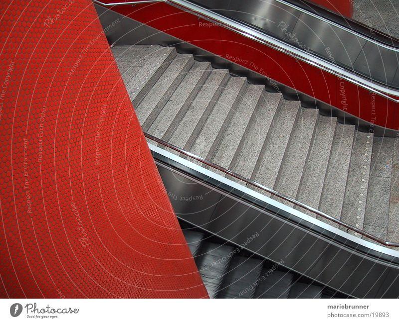 rolltreppe Treppe Dinge Bahnhof Rolle Rolltreppe
