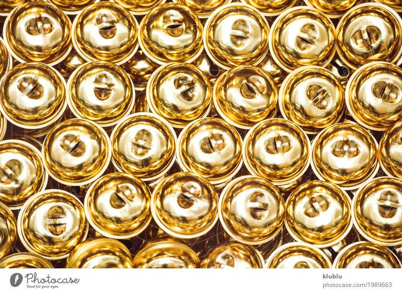 Kleines goldenes funkelndes Klirrenbeschaffenheits-Hintergrundmuster. Design Dekoration & Verzierung Kunst Metall Ornament Kugel Klimpern Konsistenz Wand