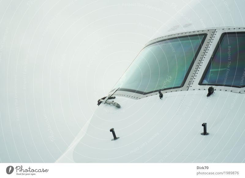 Pilot's seat Ferien & Urlaub & Reisen Ferne kalt Tourismus Metall Verkehr elegant modern Glas Luftverkehr ästhetisch Technik & Technologie Erfolg Zukunft groß Flugzeug