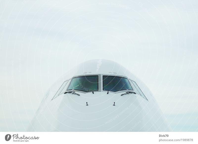 Eierkopf. Ferien & Urlaub & Reisen Tourismus Ferne Luftverkehr Technik & Technologie High-Tech Verkehr Verkehrsmittel Flugzeug Passagierflugzeug Flughafen