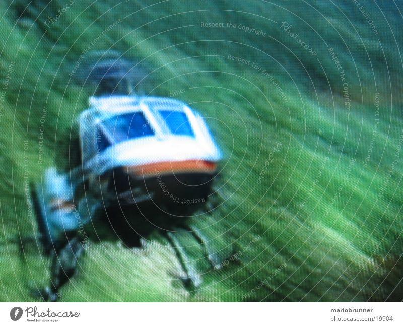 heli_landung Luftverkehr Flugzeuglandung Hubschrauber