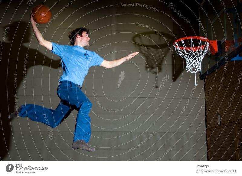 Slam Jugendliche Erwachsene Leben Sport Bewegung springen Freizeit & Hobby fliegen maskulin ästhetisch verrückt außergewöhnlich Coolness Ziel 18-30 Jahre Fitness